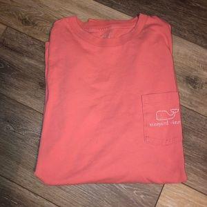 Long Sleeve Med Vineyard Vines T Shirt